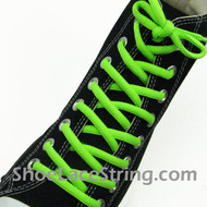 Neon Green 54IN Oval Shoe Lace Neon Green Oval Shoe String 2PRs