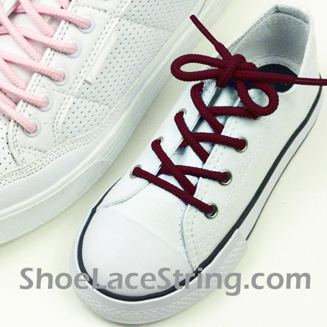 Maroon  Inch Shoe Lace Dress Shoe