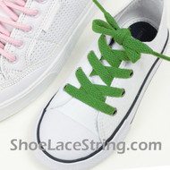 Bright Green 27INCH Kids ShoeLace Bright Green ShoeString 2Pairs