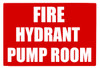 Fire Hydrant Pump Room