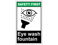 ANSI Safety First Eye Wash Fountain