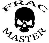 Frac Master (Oilfield Skull) Decal