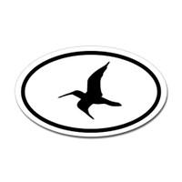 Bird Oval #18