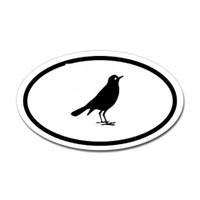 Bird Oval #24