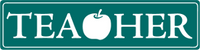 Teacher With Apple - Bumper Sticker