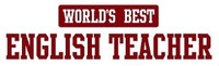 World's Best English Teacher - Bumper Sticker