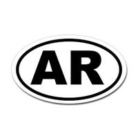 Arkansas State Oval Sticker