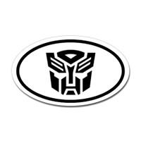 Autobot Oval Sticker
