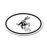 Bugs Bunny Oval Sticker