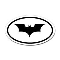 Batman Oval Sticker