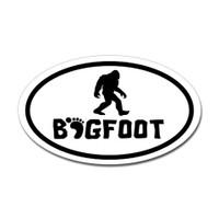 Bigfoot Oval Sticker #4