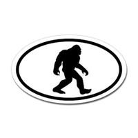 Bigfoot Oval Sticker #3