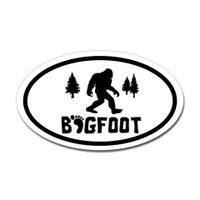 Bigfoot Oval Sticker #5