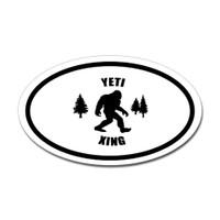 Bigfoot Oval Sticker #7