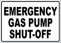 Emergency Gas Pump Shut-Off