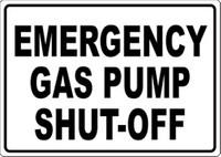 Emergency Gas Pump Shut-Off