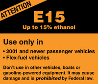Attention Up To 15% Ethanol