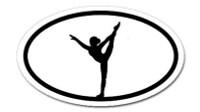 Ballet Dancer  -  Bumper Sticker