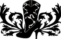 Cowgirl Boot Design With Floral Decal