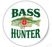 Bass Hunter Sticker