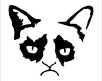 Grumpy Cat Decal #1