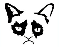 Grumpy Cat Decal