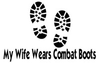 My Wife Wears Combat Boots Decal