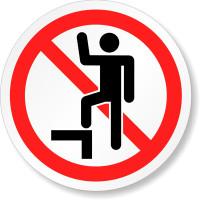 Do Not Step (Circular)