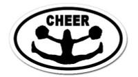 Cheer  -  Bumper Sticker