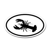 Fishing Oval Sticker #12