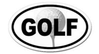 Golf  -  Bumper Sticker