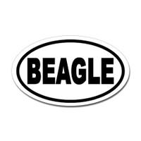 Dogs Oval Sticker