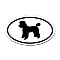 Dogs Oval Sticker #15