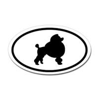 Dogs Oval Sticker #27