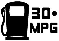 JDM 30+ MPG Decal