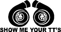 JDM Show Me Your TT's Decal
