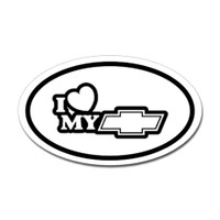 Racing Oval Sticker #1