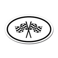 Racing Oval Sticker #9
