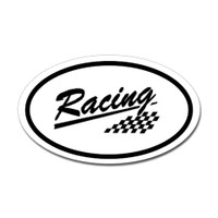 Racing Oval Sticker #10