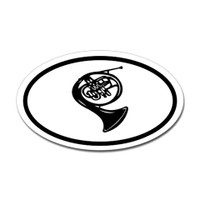 Music Oval Sticker #10