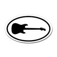 Music Oval Sticker #13