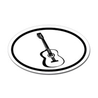 Music Oval Sticker #15