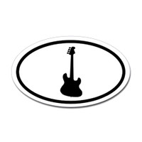 Music Oval Sticker #16
