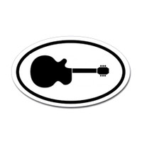 Music Oval Sticker #17