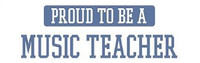 Proud To Be A Music Teacher - Bumper Sticker