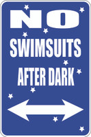 No Swimsuits After Dark