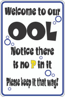 Welcome To Our OOL - No 'P'