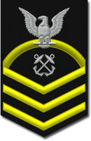 US Navy Chief Petty Officer (E7)