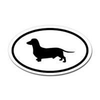 Dogs Oval Sticker #24