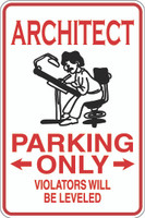Architect Parking Only